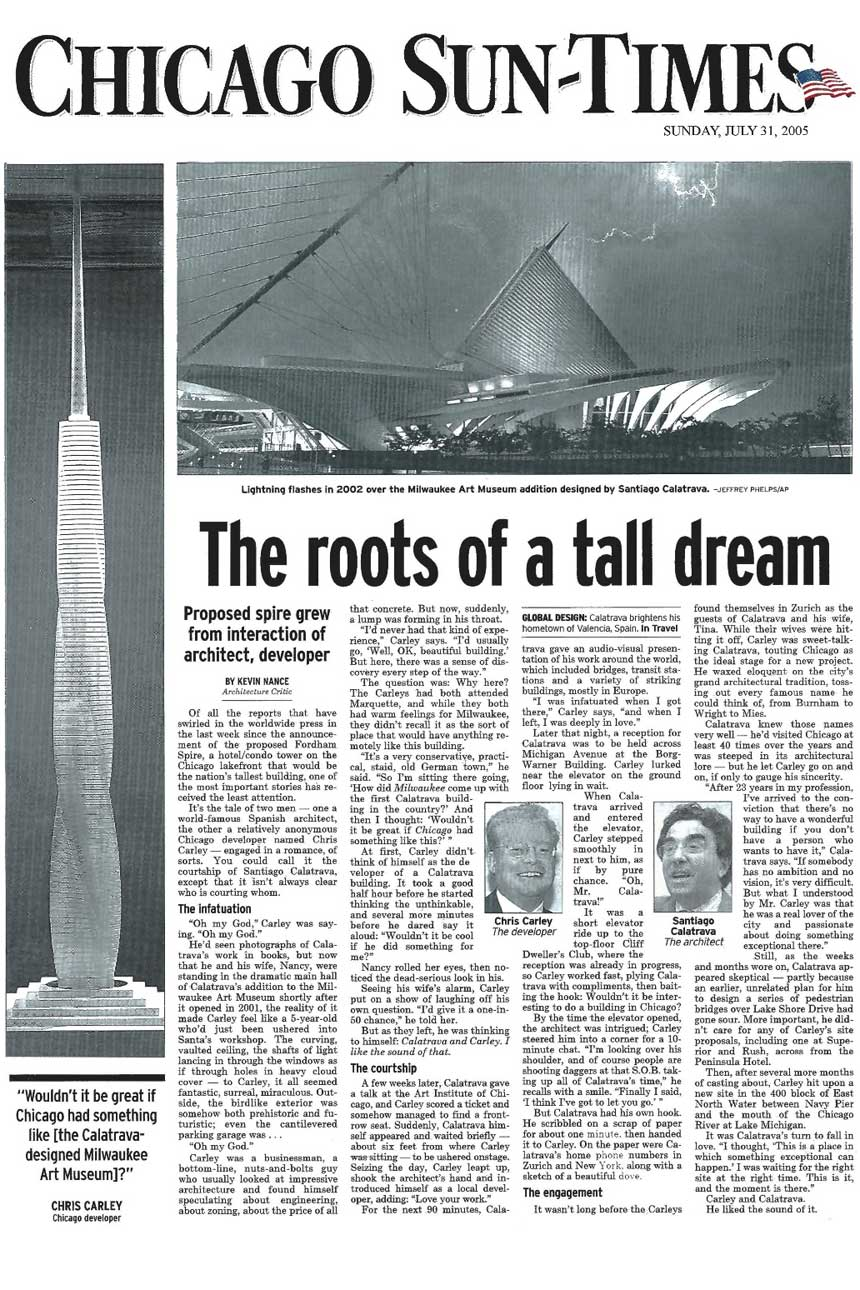 Chicago Sun Times: The Roots of a Small Dream ...